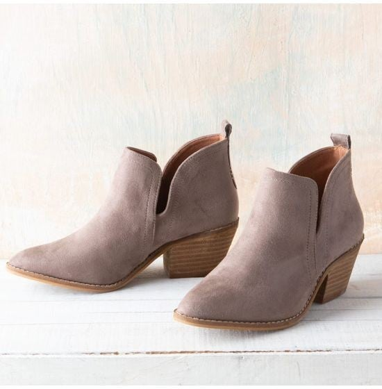 Corkys Little Taupe Bootie