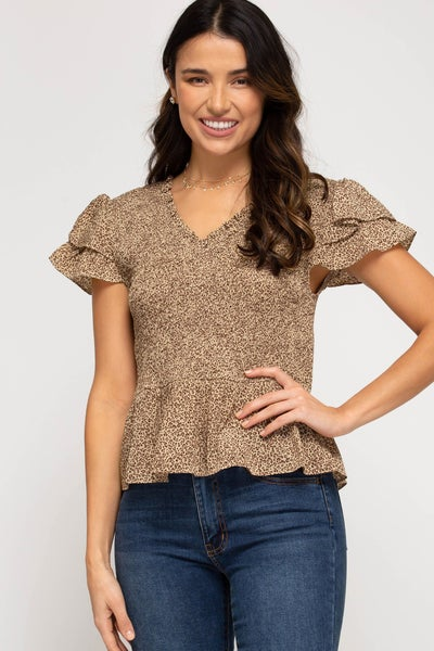 Countryside Beauty Smocked Top