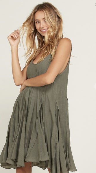Stay On Track Flare Dress
