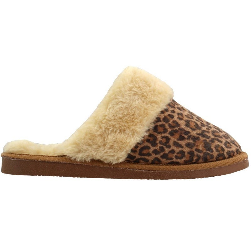 Corkys Leopard Slippers