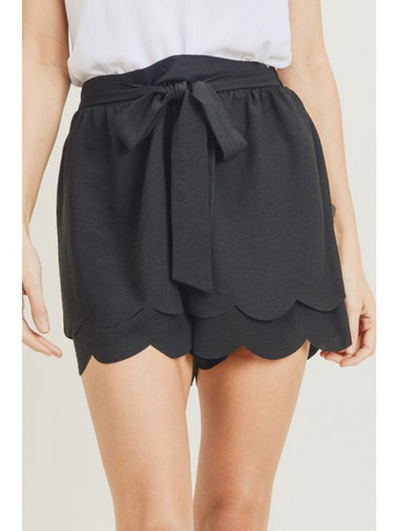 Perfect On Any Day  Scalloped Short