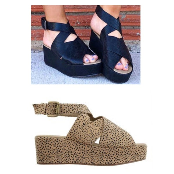 Corkys Strappy Wedge *Final Sale*