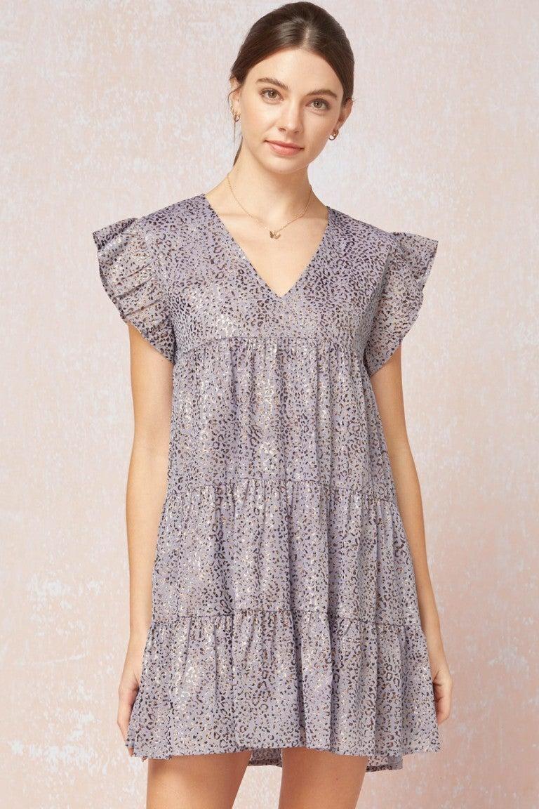 No Limits Animal Print Babydoll Dress *Final Sale*