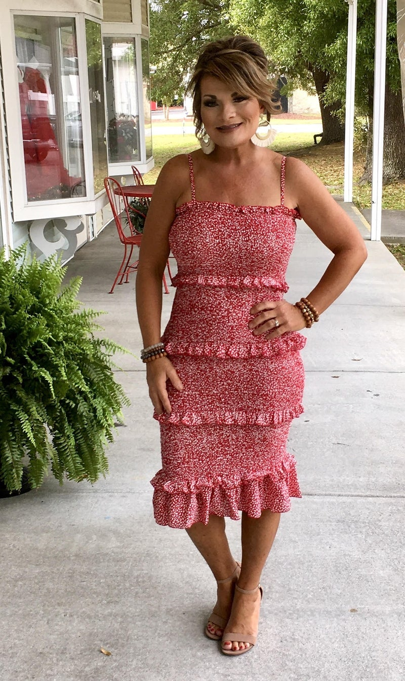Summer time Daydreaming Smocked Dress
