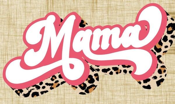 Retro Mama Graphic Tee
