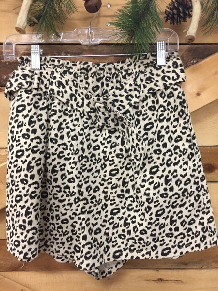 All Day Leopard Short