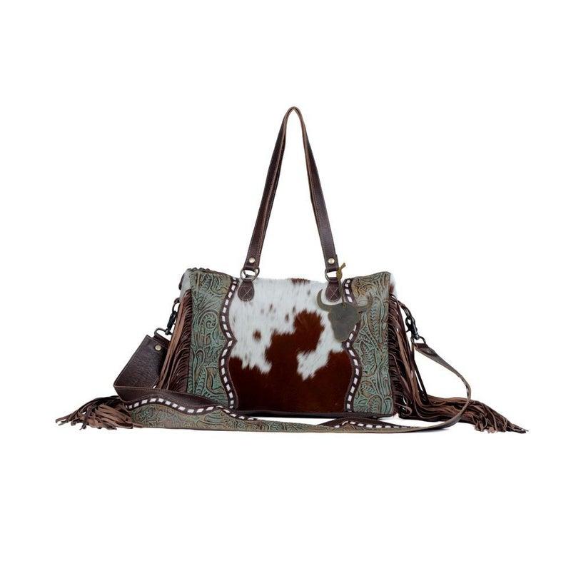 Dangle Wangle Leather & Hairon Bag