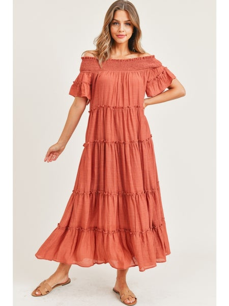 Pure Perfection Maxi Dress