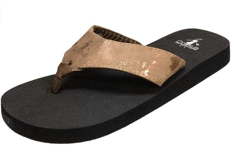 Corky's Bronze Flip Flop *Final Sale*