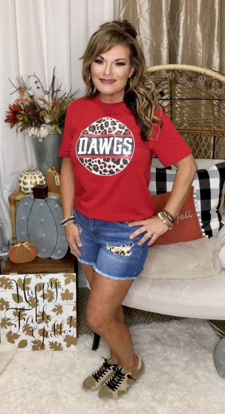 Leopard Dawgs Graphic Tee