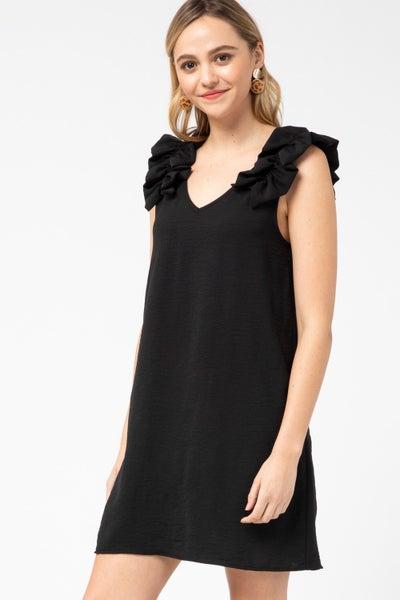 FAV Ruffle Sleeve Tank Dress