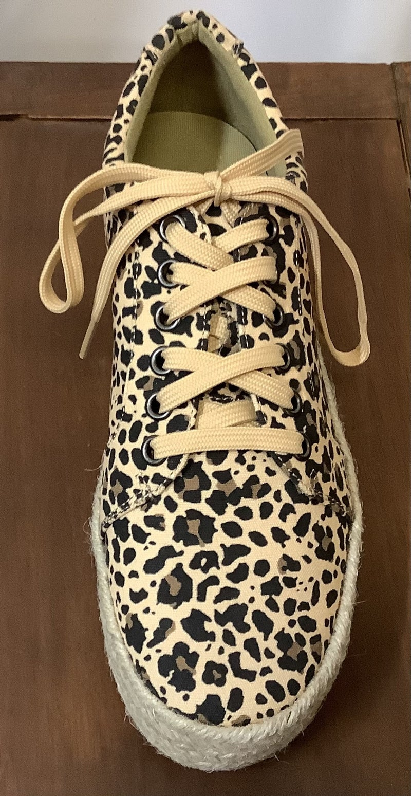 Corkys' Leopard Tennis Shoe *Final Sale*