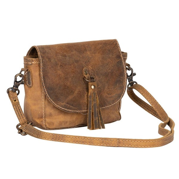 Whispering Woods Leather Bag
