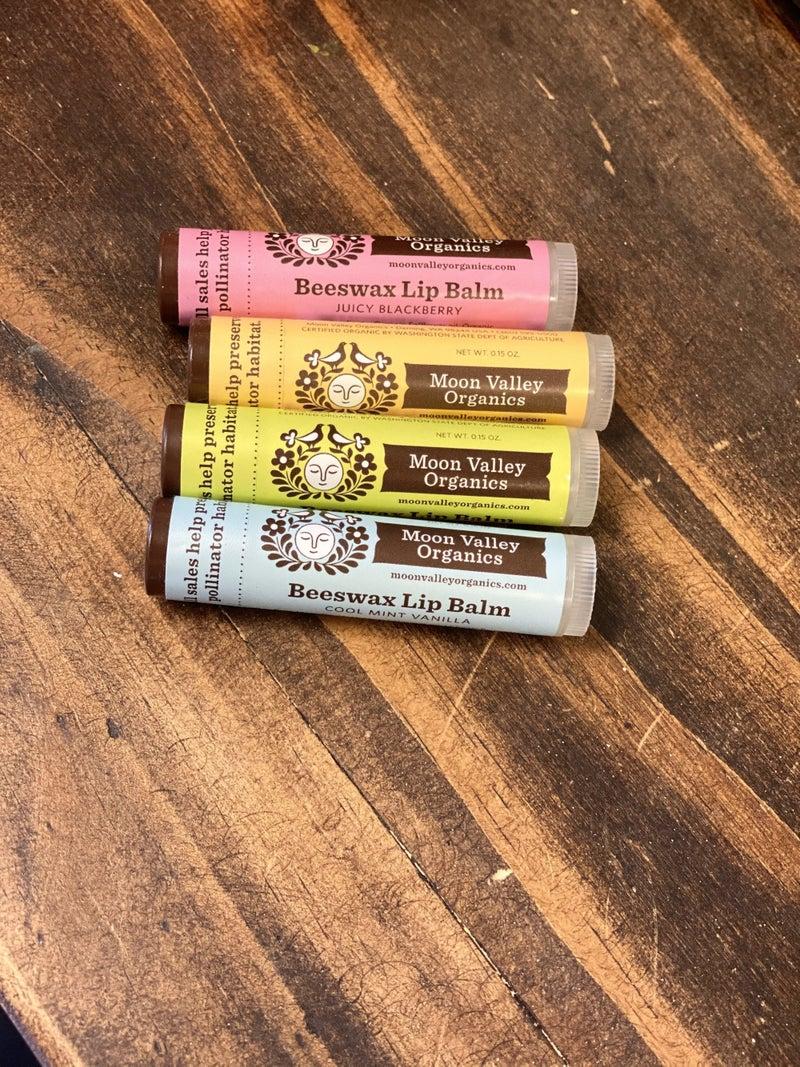 Moon Valley Organics Beeswax Lip Balm