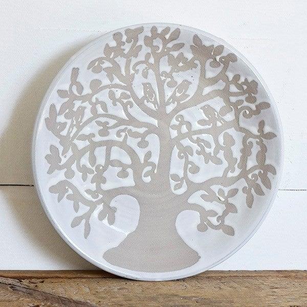 TREE OF LIFE CERAMIC BOWL