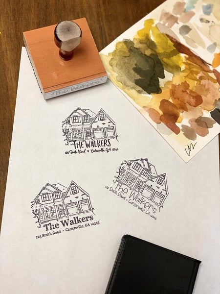 Custom Address Stamp Bundle
