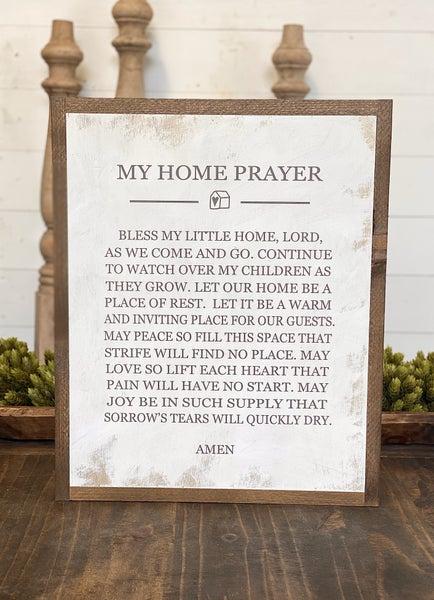 My Home Prayer