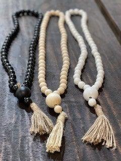 "Tassel Beads - 20"""