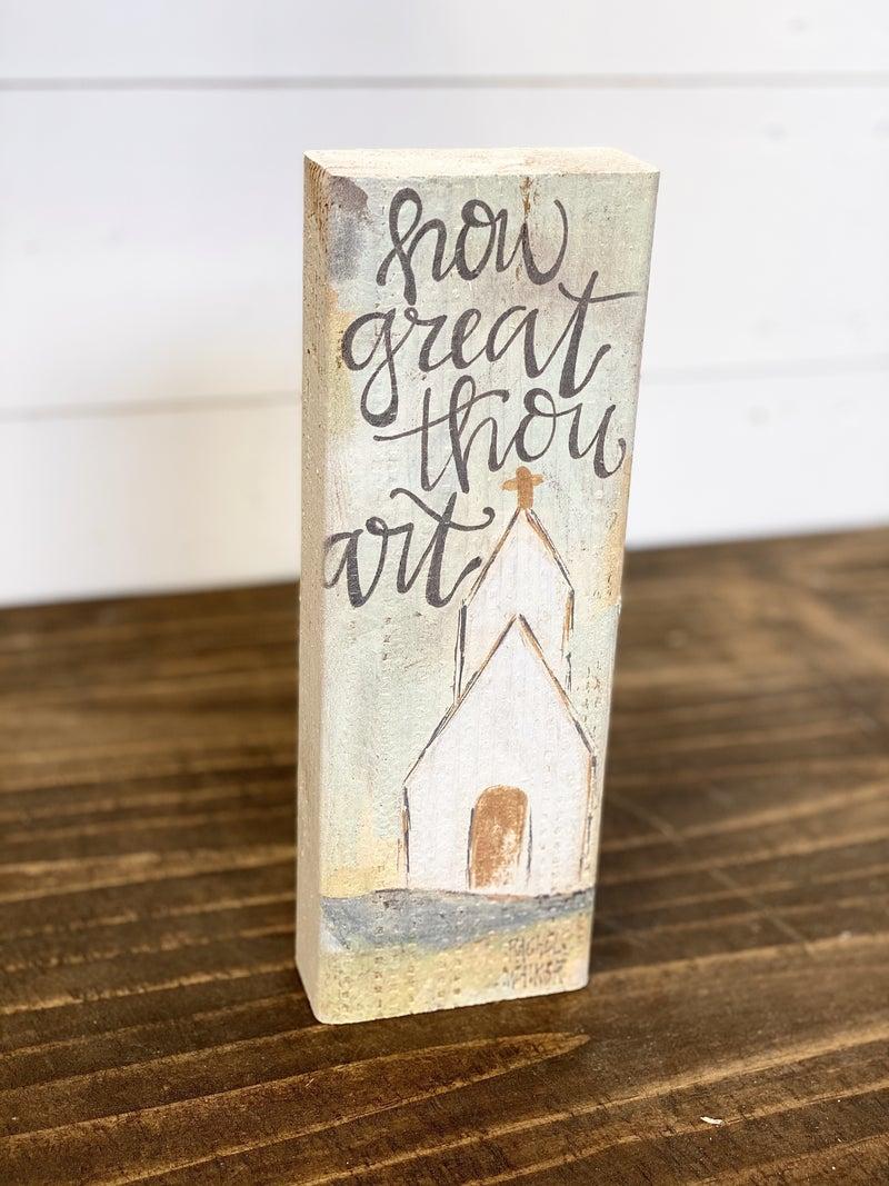 "HAPPY 10"" BLOCK-How Great Thou Art Church"