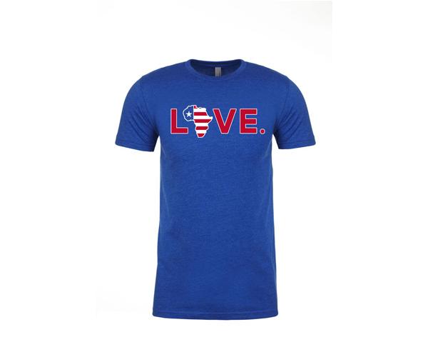 "Patriotic ""LOVE"" T-Shirt"