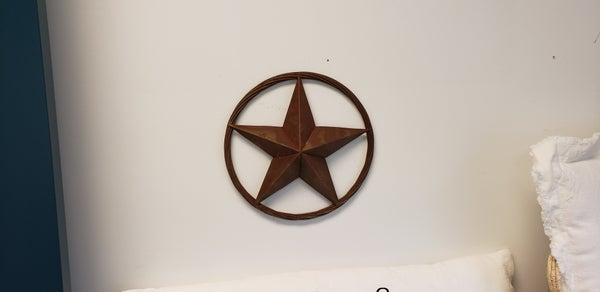 Metal Star with Rope
