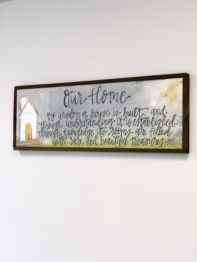 Our Home Canvas