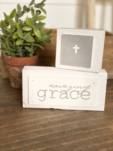 Chunky Amazing Grace Block 7""