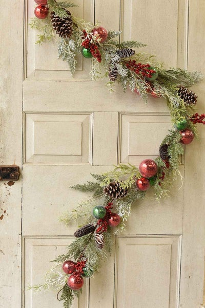 Deck The Halls Garland-6' Long