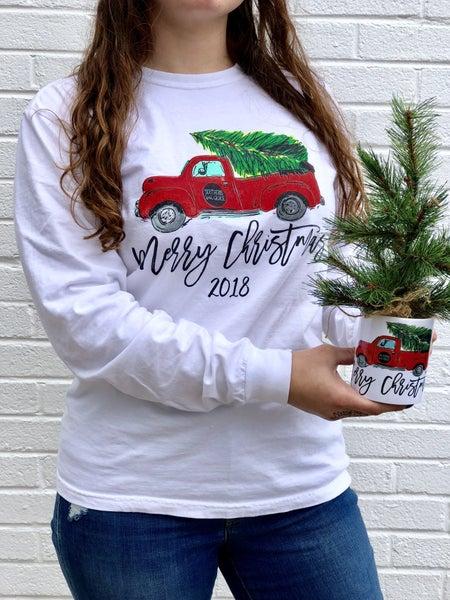 Exclusive Christmas Tee Shirt (long sleeve)