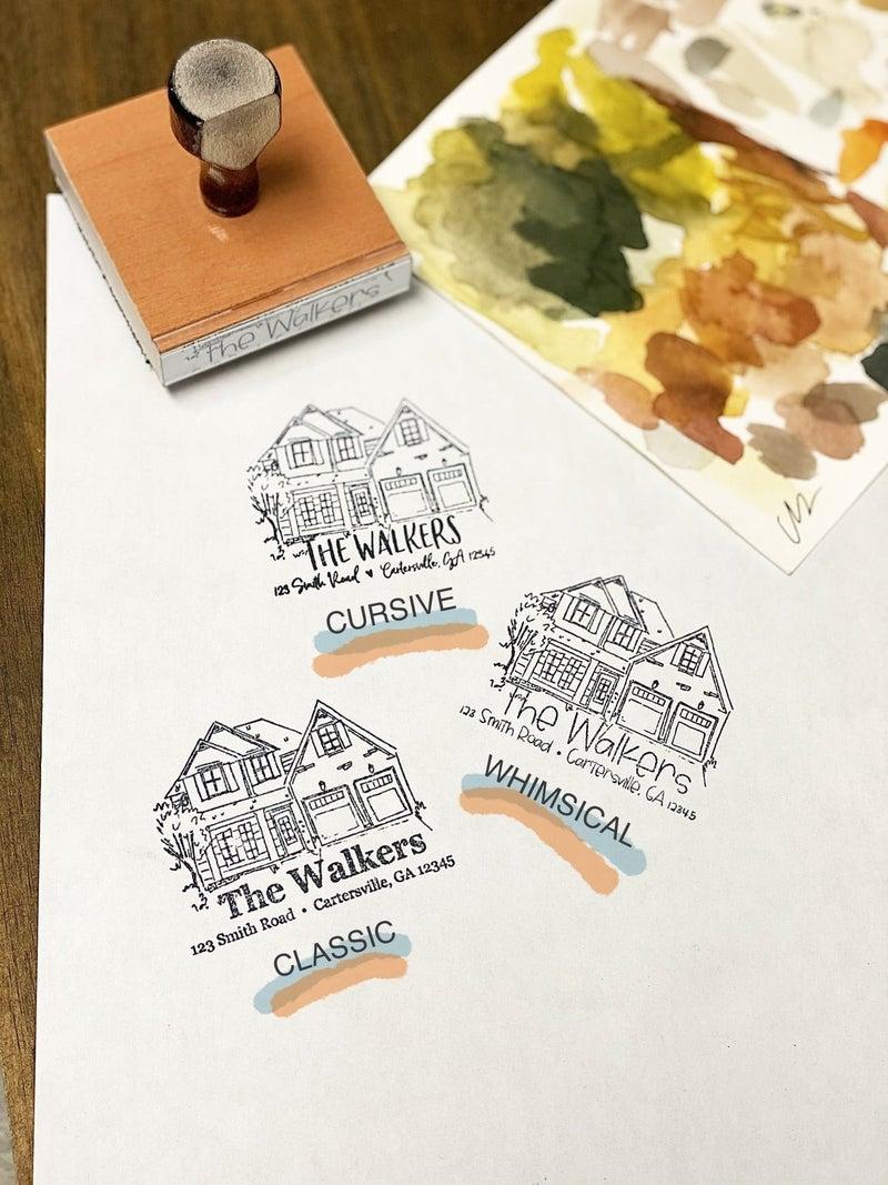 Custom House Stamp