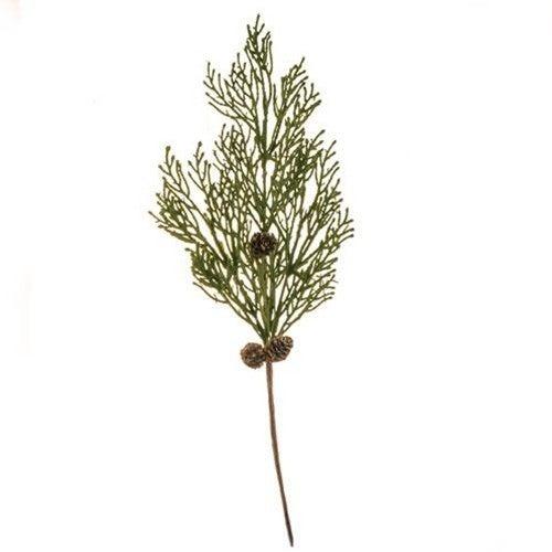 Mossy Cedar Pine Spray