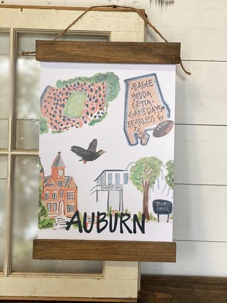 Auburn, AL Wall Hanging