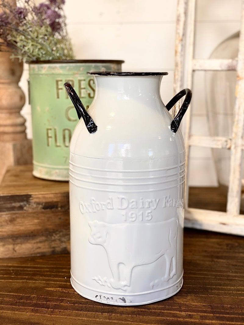 Vermont Milk Can