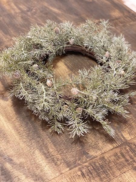 Cedar Wreath w/Pinecones