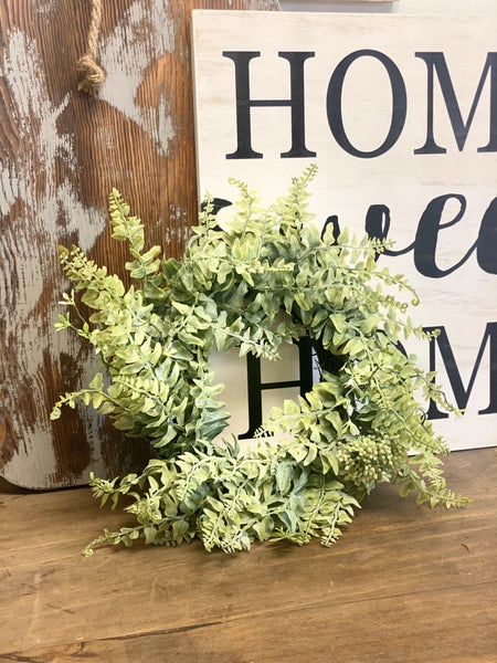 Wild Fern Wreath