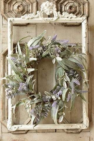 Lifting Lavender Wreath