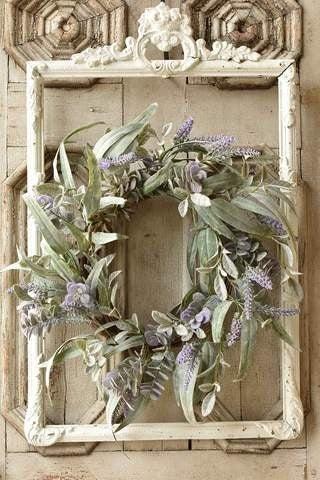 Lifting Lavender Wreath
