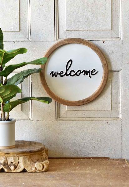 Living Sign   Welcome