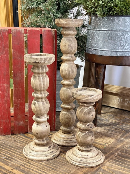 Savannah Candle Pillar, 3 Sizes