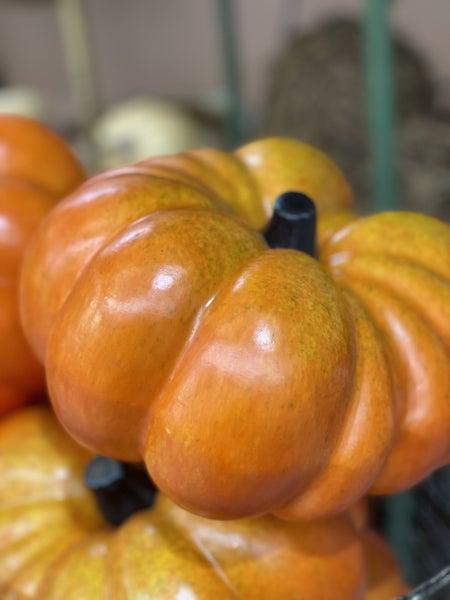Squashed Orange Pumpkin
