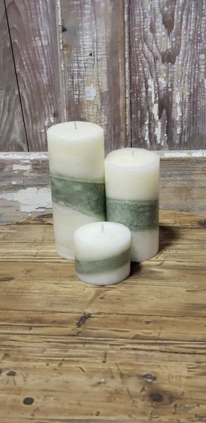 SWG Exclusive Pillar Candles (Set of 3)