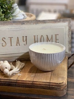 SWG Exclusive Ceramic Bowl Candle