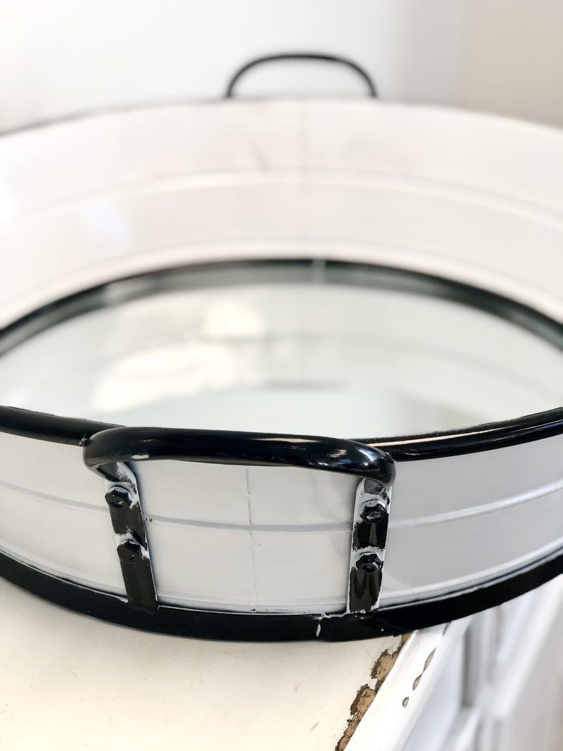 White Tub Mirror