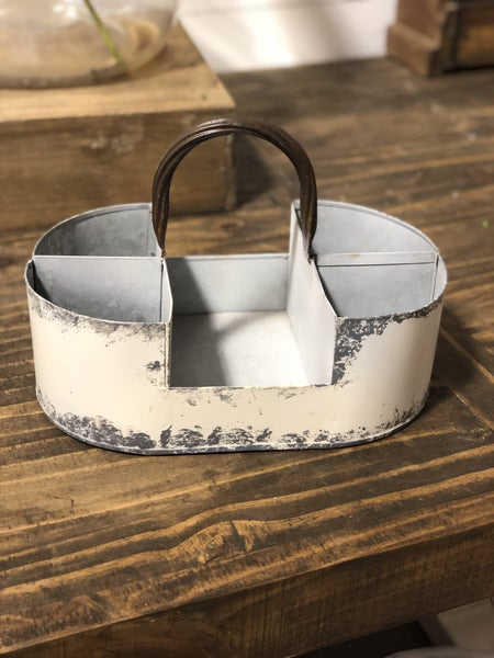 Metal Table Top Caddy