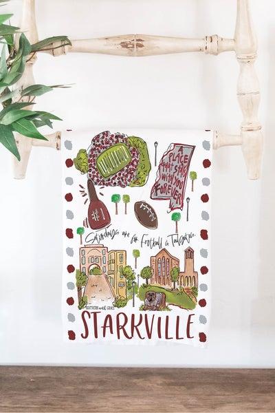 Starkville - Cutting Board/ Tea Towel Bundle