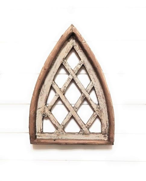 Mini Criss Cross Cathedral Window