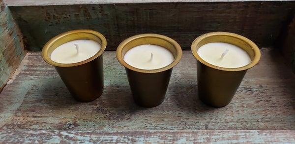 SWG Sugar Mold Candles/Set of 3