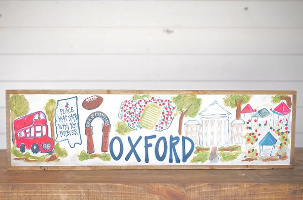 Oxford, MS College Town Sign
