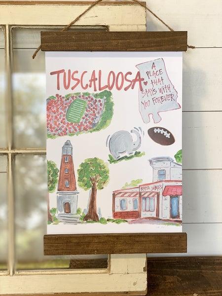 Tuscaloosa, AL Wall Hanging