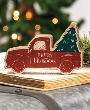 Merry Christmas Truck Sitter